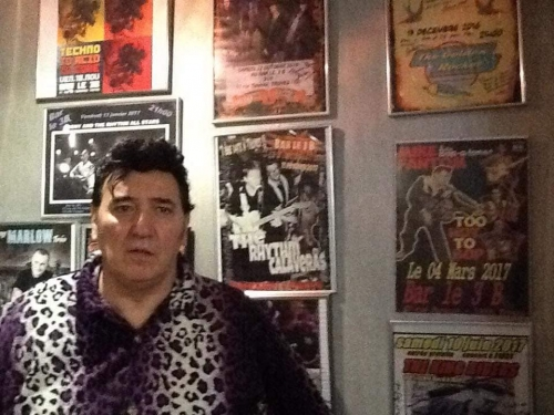 jackets,don cavalli,mike fantom and the bop-a-tones,rock'n'roll stories + bill haley,sylviejohnny + marie desjardins